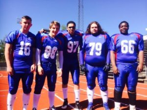 GB U19 Players
